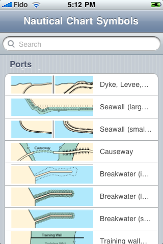 Nautical Chart Symbols For Iphone