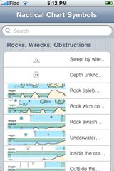 Nautical Chart Symbols for iPhone - SailNet Community